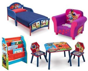 Details About Choose From Paw Patrol Bedroom Furniture Kids Beds Storage Units Chairs