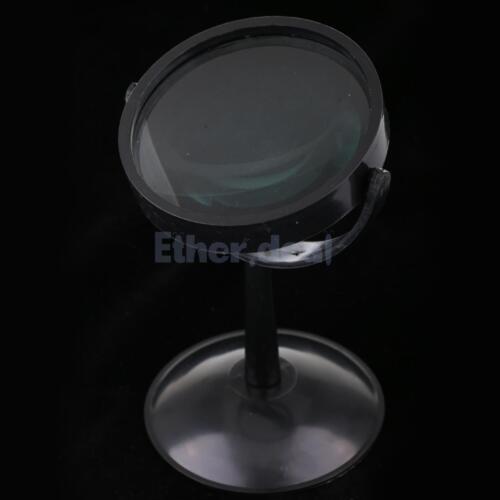 10cm konvexe Linse mit Ständer für Labor physikalische optische Experiment