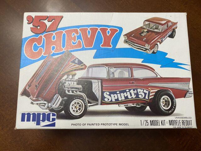 Mpc Spirit of 57 1957 Chevy Gasser 1/25 Scale 1975 Vintage Kit Inner Bag Sealed
