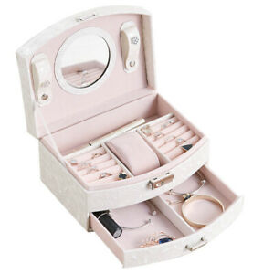 Jewellery-Box-Storage-Case-with-Drawer-for-Necklaces-Earrings-and-Rings