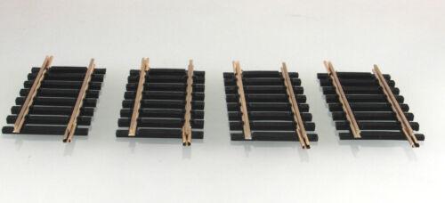 4 Stück H0 ROCO 4418 Neusilbergleis Ausgleichstück gerade L= 62mm Lieferumf