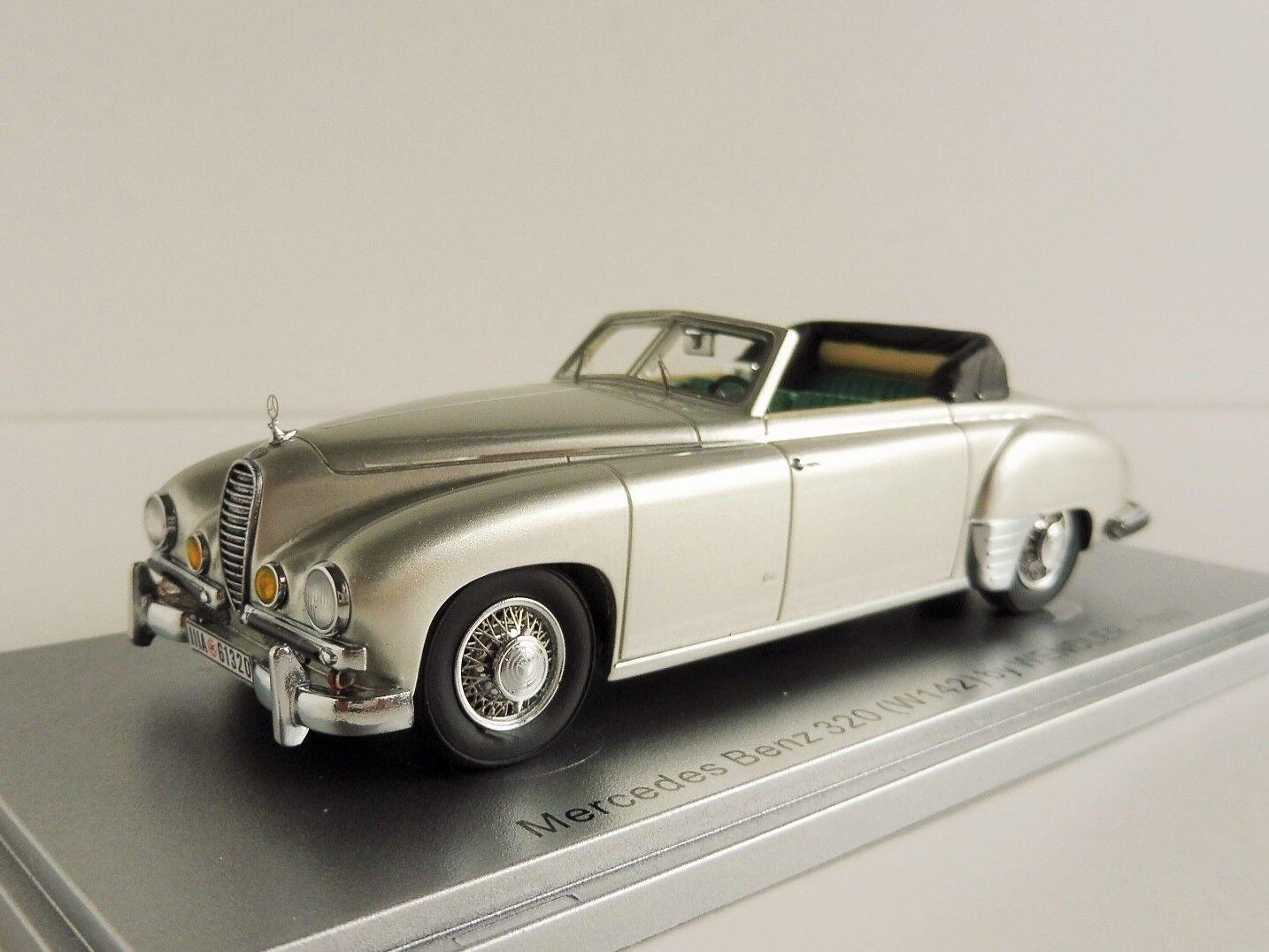 Mercedes-Benz 320 By Wendler Cabrio 1940 1 43 Kess Ke43037000 Mercedes