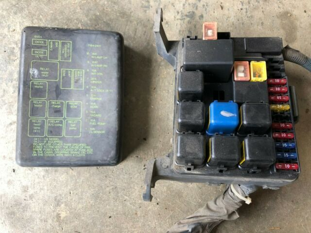 92 93 94 95 1995 Honda Passport Rodeo Fuse Box Under Hood