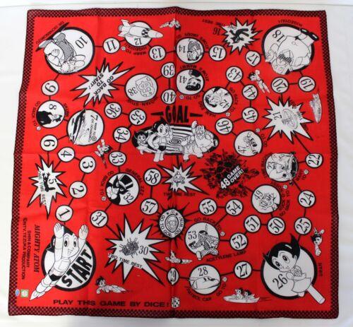 "Astro Boy Red Game Osamu Tezuka Bandana Cloth Wall Deco, 20"" x 20"" A&R [A9]"