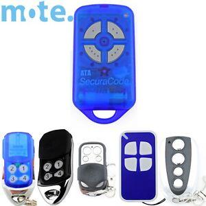 4 x ATA PTX4 Compatible Garage//Gate Door Remote GDO 2v5//2v6//2v7//4v3//4v4//4v5//4v6