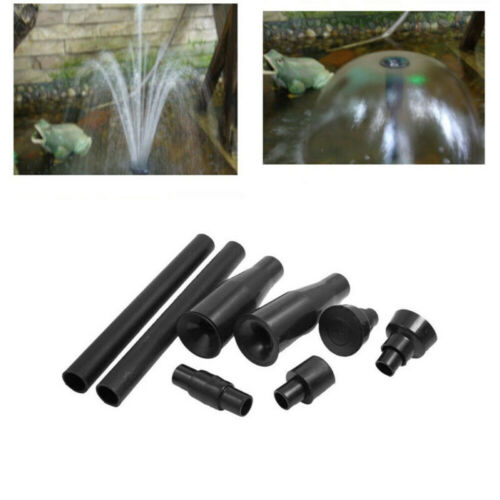 Fountain Pond Nozzles Heads For Waterfall Fish Tanks Aquariums Water Feature 8Pc