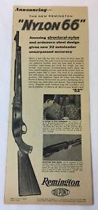 1961-Remington-Nylon-66Ad-Sorprendente-Estructural-Nailon-y-Ordnance-Acero