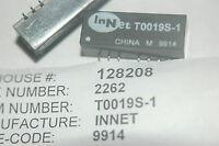 Innet T0019s-1 1500vac 60-sec 1500vac 60-sec 350-uh Quantity-1