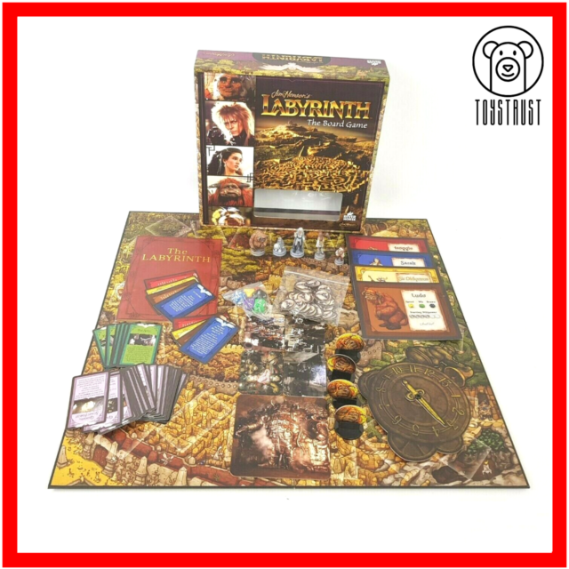 Labyrinth Jim Henson Board Game River Horse Games Family Fun