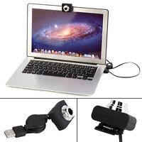 Usb 30m Mega Pixel Webcam Video Camera Web Cam For Pc Laptop Notebook Clip Ww