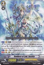 Cardfight Vanguard  x 1 Goddess of Law, Justitia - PR/0104EN-B - PR (BT14 Promo)