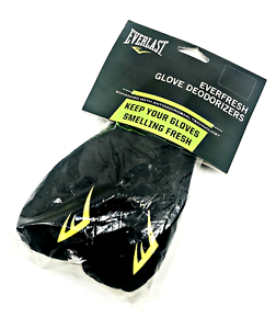 Black #7604 Everlast Everfresh Glove Deodorizers w// Antimicrobial Technology