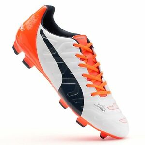 1aab7d9c22ff Puma EvoPower 3.2 Firm Ground Mens Soccer Cleats Football Boots 11.5 ...