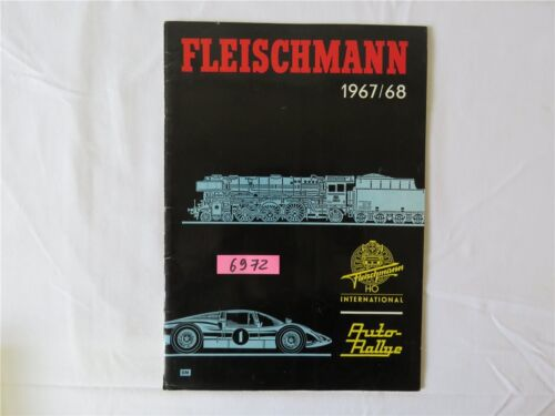 Fleischmann 1967/68 DM Modelleisenbahn Katalog