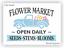 Joanie Stencil Flower Market Stems Blooms Seeds Vintage Truck Garden Porch Sign