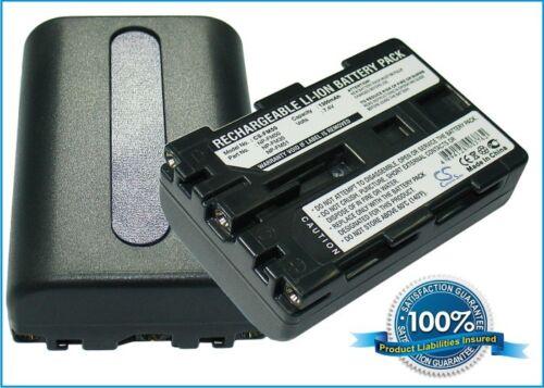 BATTERIA per SONY CCD-TRV318 DCR-DVD100E DCR-HC15E DCR-TRV16E DCR-TRV19E DCR-TRV7