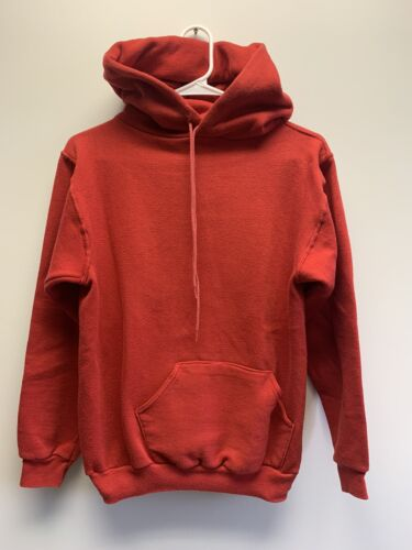 Vintage Russell Athletic Gold Tag Blank Hooded Sw… - image 1