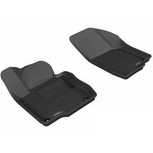 Tan 3D MAXpider L1DG01631502 Third Row Custom Fit All-Weather Floor Mat for Select Dodge Grand Caravan Models Kagu Rubber