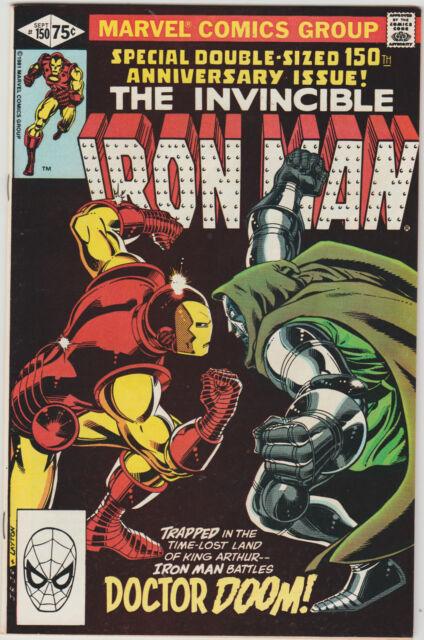 Iron Man 150 vs DR DOOM Doomquest 1981 Marvel VF RaRe CGC AVENGERS Logan Blu-Ray