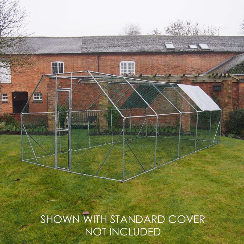 Chicken Run 6m X 3m Walk In Pet Cage Coop For Dog Rabbit