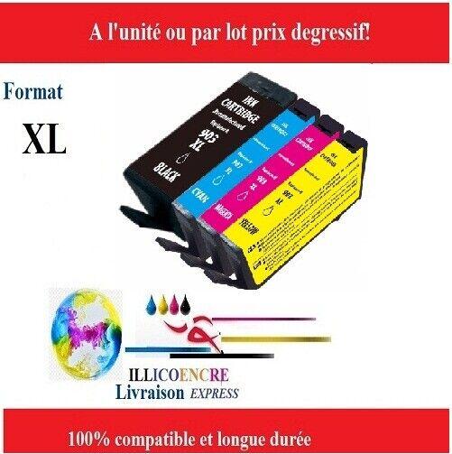 903-903L-903 XL-Cartouches compatibles pour HP Officejet Pro 6950 6960 6962 48h