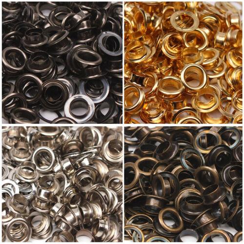 Eyelet Washer Leather Craft Tool Repair Grommet 3.5//4//4.5//5//6//8//10//12//14//17//20mm