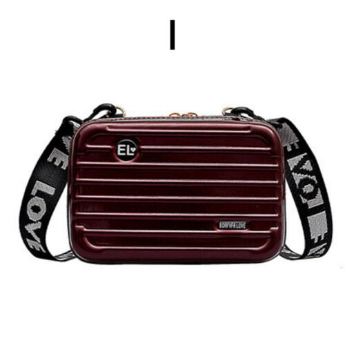 Women new wallet Mini suitcase chain shoulder Messenger box girl waterproof bag