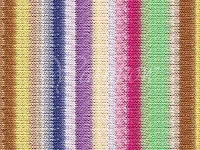 NORO ::Taiyo Sport #12:: cotton silk wool yarn 40% OFF! Ecru-Mint-Fuchsia-Nut