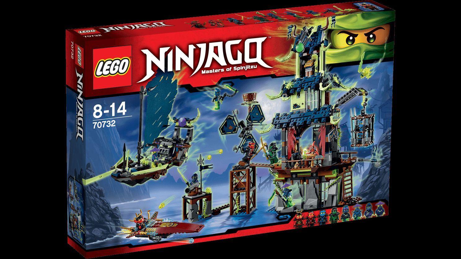 Lego ® Ninjago ™ 70732 la ciudad stiix nuevo New OVP misb
