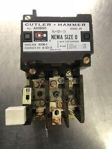 Cutler Hammer C10CG30 Series A1 Starter Nema Size 1