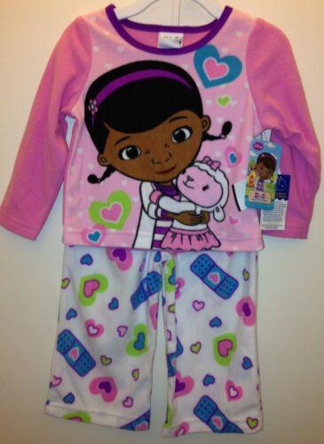 Nickelodeon Disney Baby Girl Toddler Fleece PJ Set size 2 T