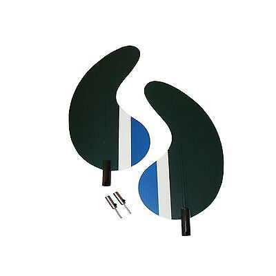MOJO Outdoors Mojo Magnetic Wings Baby//Floater Two Pack