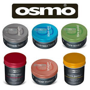 hair wax styling products osmo professional hair styling matte clay wax fibre 4869