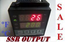 Fahrenheit Pid Temperature Controller 116 Din Input K J Rtd Ssr Output Voltage