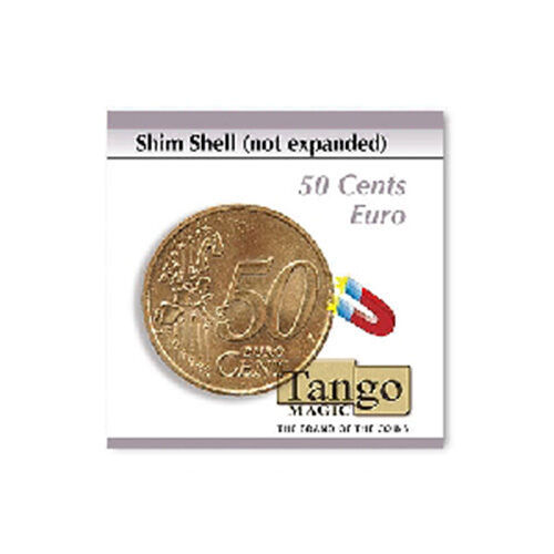 Shim shell (not expanded) - 50 cents Euro by Tango Magic - Magic with Coins