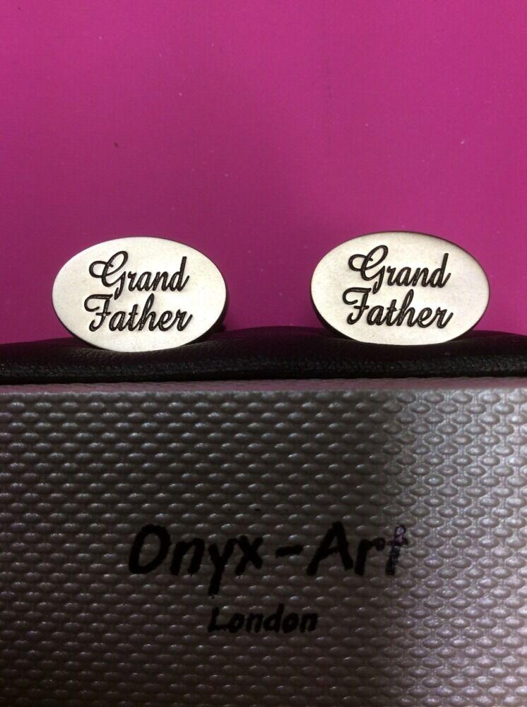 **REDUCED** Grandfather Cufflinks by Onyx Art CK536