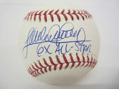 Baseball-mlb Considerate Sandy Alomar Jr Cleveland Indians Signed Romlb 6x All Star Inscription Jsa Coa Finely Processed