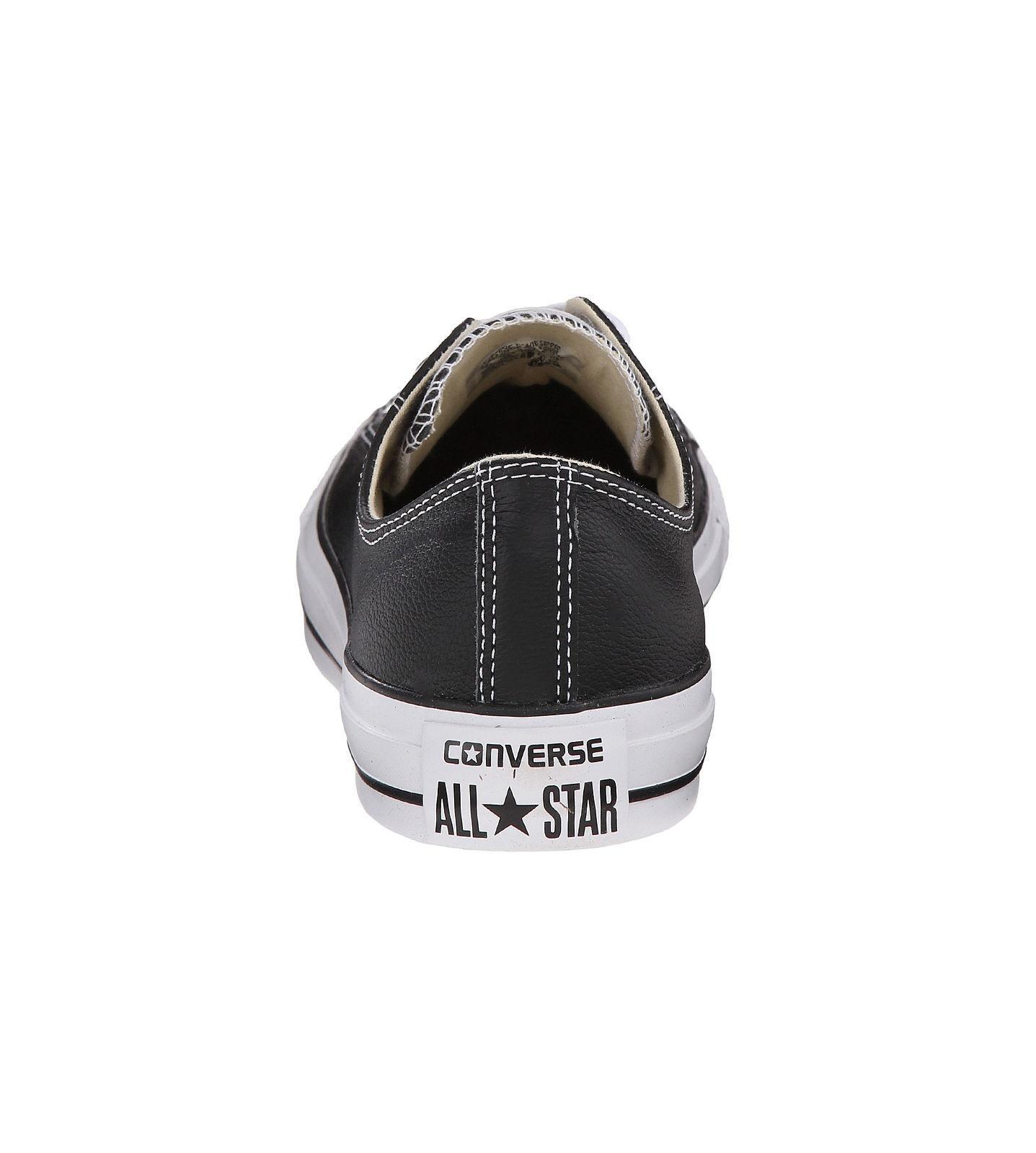 Converse star frauen männer unisex - all - star Converse - lo spitze lederschuhe schwarz - weiß - niedrige wirft d8a3d6