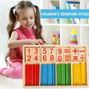 Montessori-Toys-Math-Educational-Wooden-Toys-Kids-Number-Counting-Sticks-Gifts