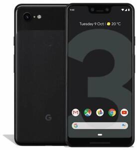 "Google Pixel 3 XL 64GB 6.3"" 4G LTE Smartphone Unlocked > NEW FACTORY SEALED <"