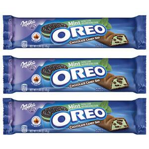 Details About Milka Oreo Mint Chocolate Bar 41g Us Import 3 Bars Uk Seller