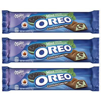 Milka Oreo Mint Chocolate Bar 41g Us Import 3 Bars Uk Seller 70221008918 Ebay