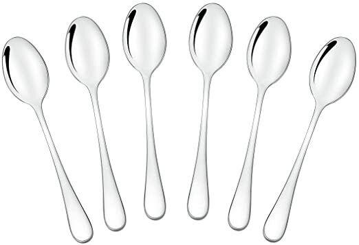Stainless Steel Coffee Spoon Kitten Tea Soup Sugar Dessert Appetizer Spoons HO