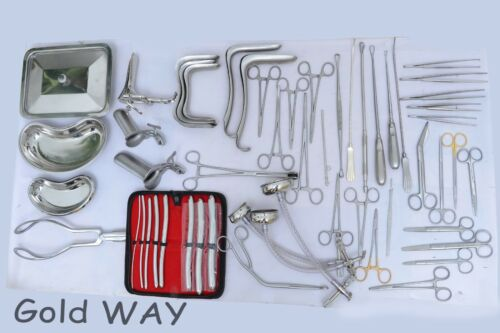 C Section Cesarean Section Set O//B  Gynecology Surgical Instruments