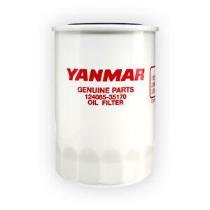 Details about Genuine Yanmar Marine Engine Oil Filter 2QM / 2QM20 / 3QM /  3QM30 - 124085-35170