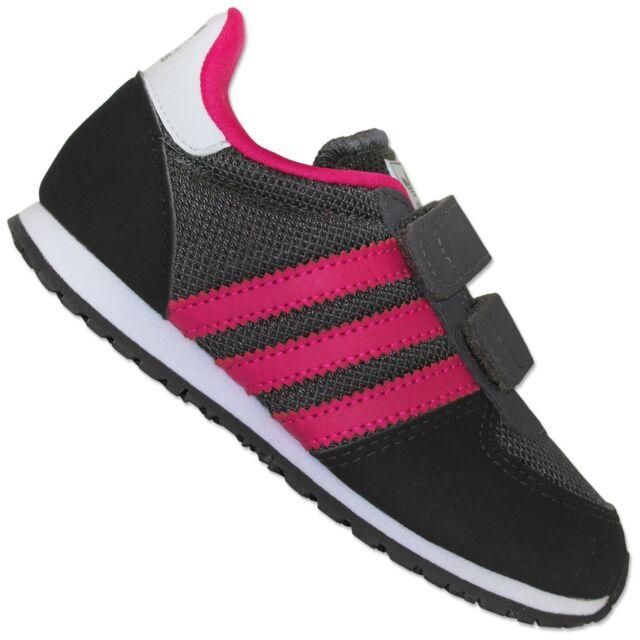 adidas Originals Adistar Racer Children Shoes SNEAKERS Grey Pink Black 25 12