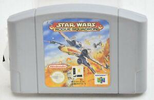 Nintendo N64 Juego: Star Wars Rogue Squadron (solo Cartucho) * * Freepost