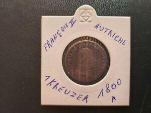 Autriche-1-Kreuzer-1800-A