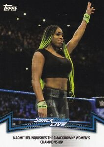 2018-Topps-Wwe-de-Mujer-Division-Cartas-Coleccionables-Momments-SDL-3-Naomi