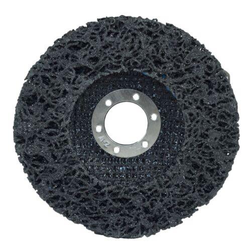115mm Flap Disc Clean Strip Rust Paint Graffiti Sanding Caramelised Wheel Grin